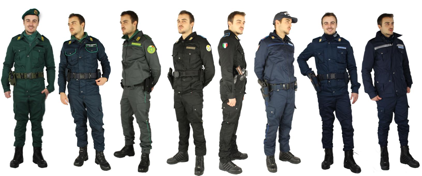 Tuta operativa su misura Polizia Locale Guardie Giurate Zoofile Ambientali