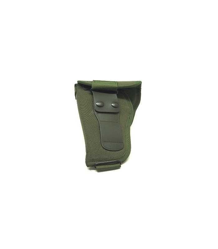 M2 - Fondina Military in cordura ed inseriti in polimero con chiusura a pattina
