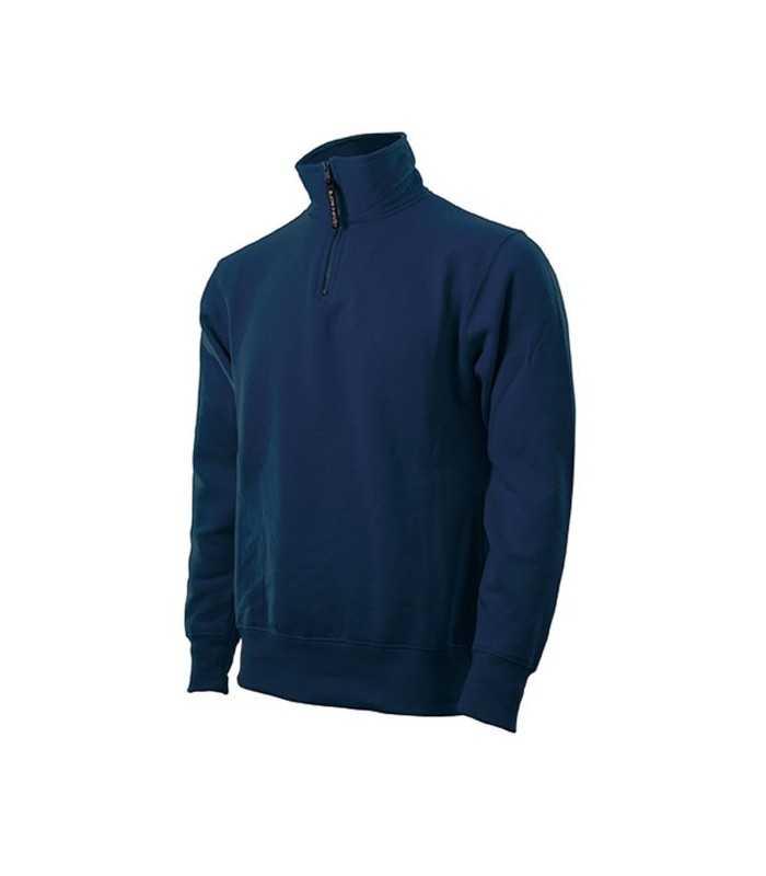 Felpa calda mezza zip PERSONALIZZABILE di ottima qualità, con interno in pile per Polizia Locale Guardie Giurate Ambientali