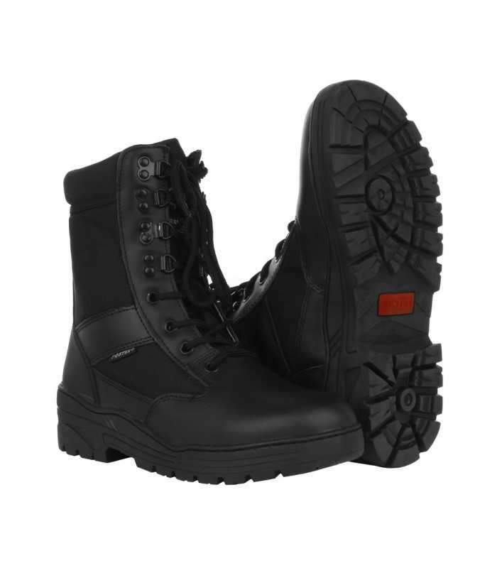 Sniper boots made of leather and nylon for Police and Security